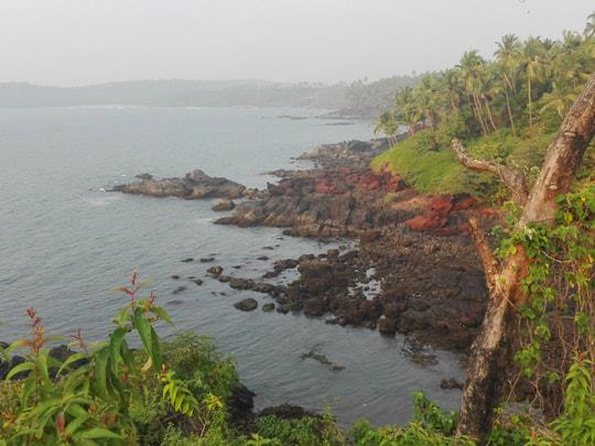 The View From Cabo de Rama Fort