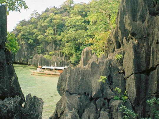 A View From The Path That Leads To Barracuda Lake, Coron
