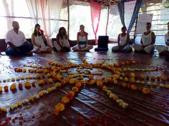 Welcome meeting, Becoming a Yoga Teacher in India