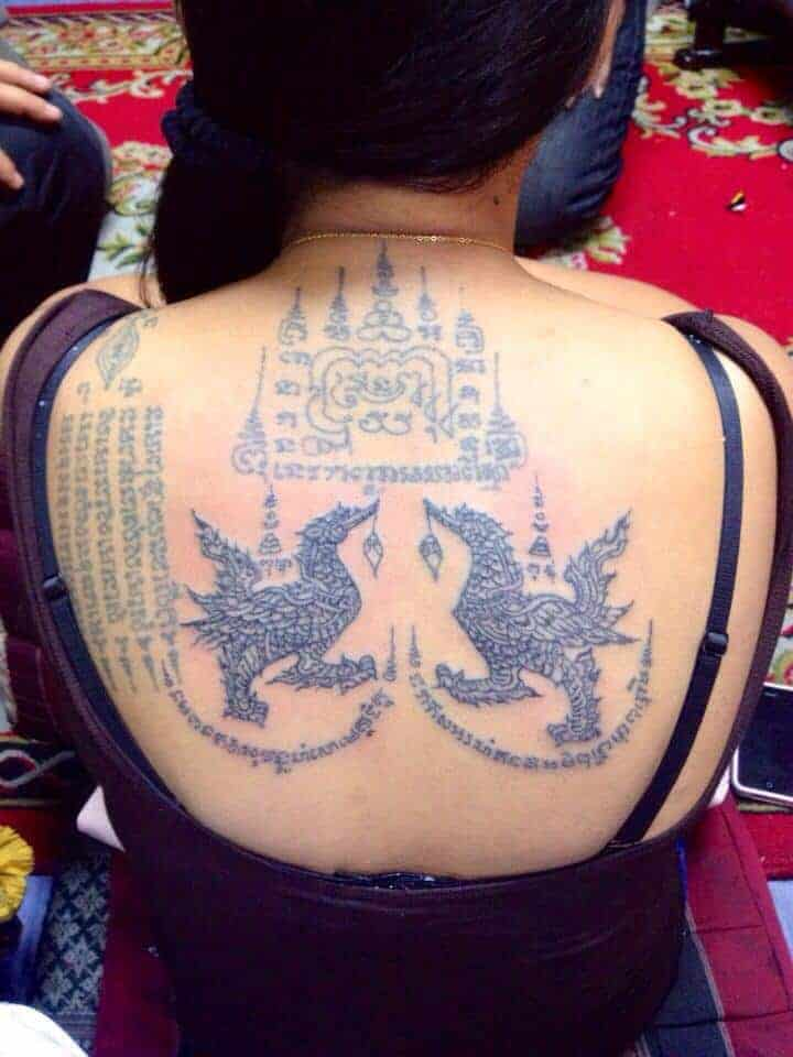 Another example of a Thai Tattoo design.