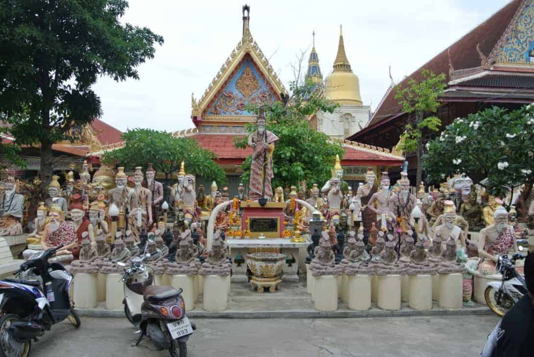 Wat Bang Phra, Temple of the Flying Tiger, Thailand