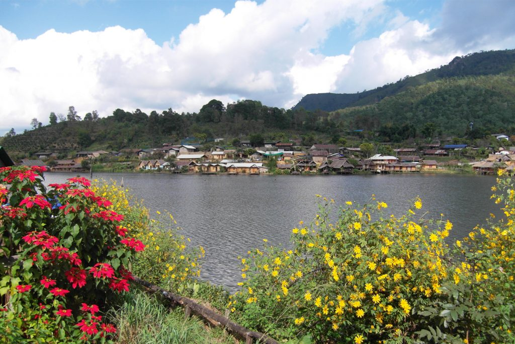 The beautiful countryside of Mae Hong Son, Thailand.