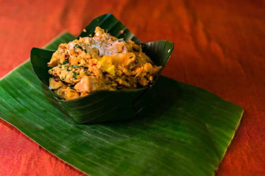 A delicious and cheap fish amok curry -Cheapest Place in Southeast Asia