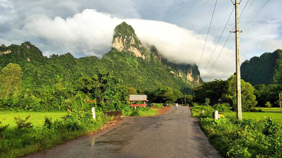 Fresh air after the rain in Hpa An, Myanmar.
