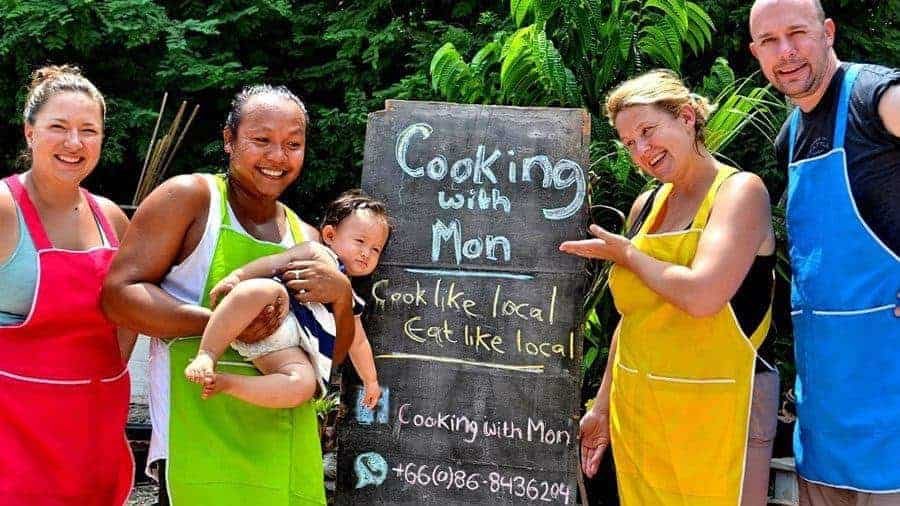 Cooking class with Mon, Koh Lanta, Thailand.