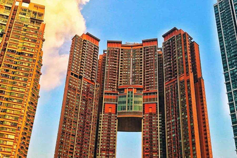 Residential Building in Kowloon Hong Kong
