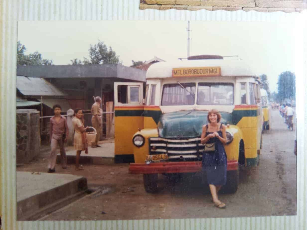 Getting the bus to Borobudur in Java