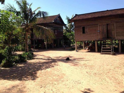Homestay - Off the beaten path cycling tour Siem Reap