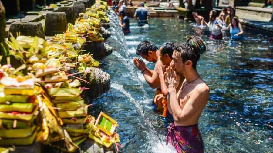 Bali's Holy Spring Temple