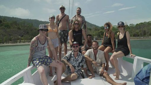 The crew on the Indonesia Island Hopping Adventure