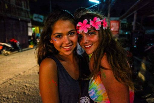 Dressed for the Full Moon Party, Koh Phangan, Thailand.