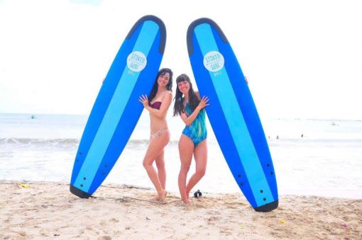 Get Stoked! Surf lessons in Bali, Indonesia.