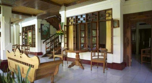 Accommodation at Stoked Surf School, Bali.
