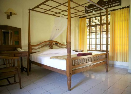 Room at Stoked Surf School, Bali.