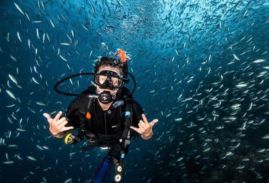 Diving in Koh Tao, Thailand