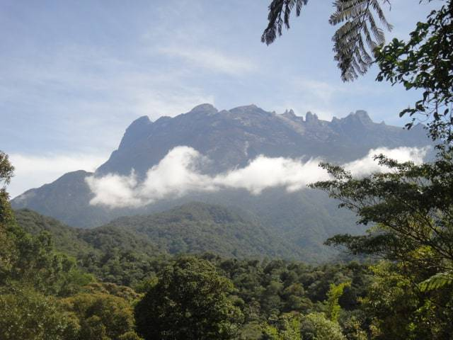 Mount Kinabalu from the ground!