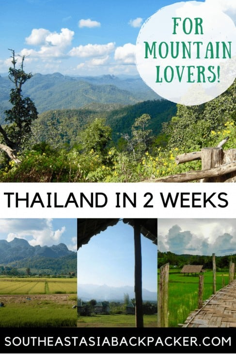 Mountain Lovers Itinerary Thailand