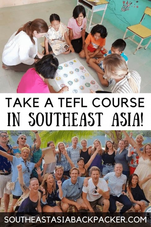 Take a TEFL Course in Southeast Asia