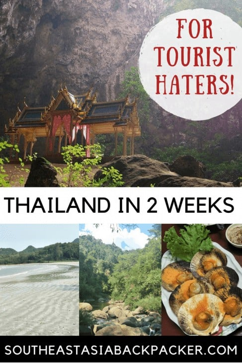 2-Week Itinerary for Tourist Haters