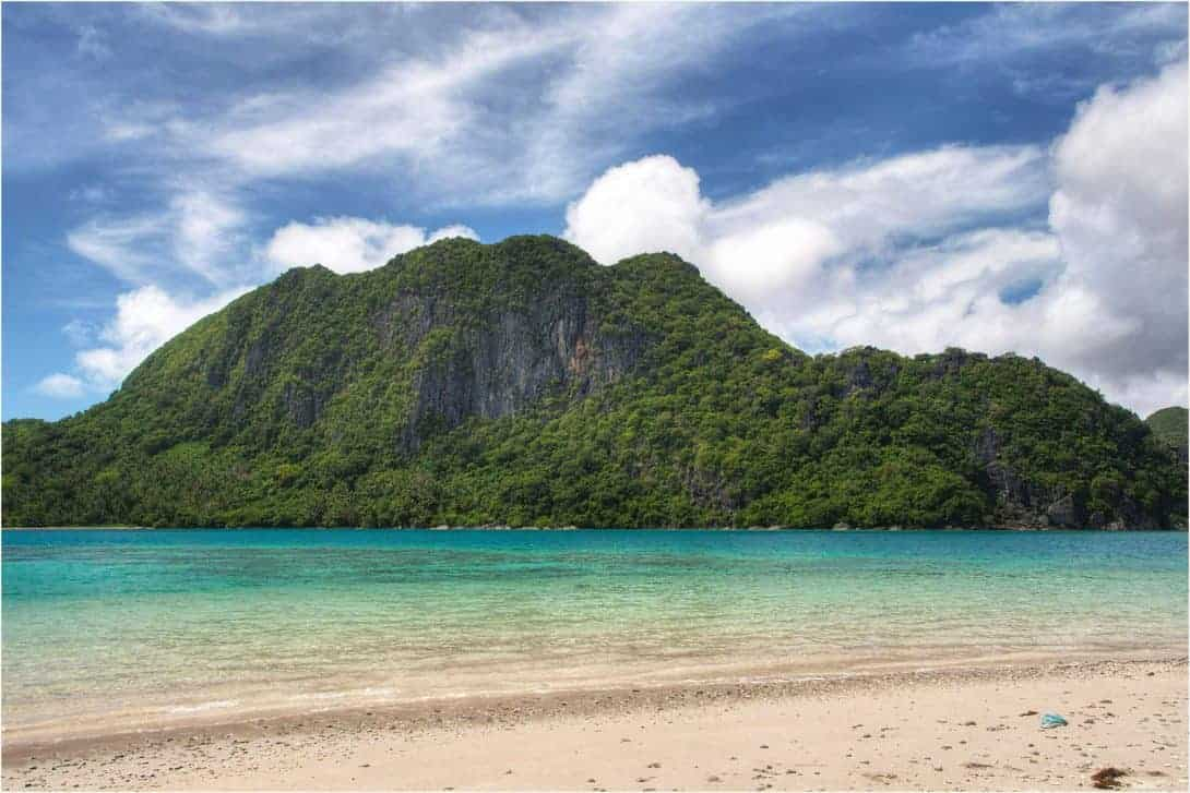 Another deserted beach in Caramoan.