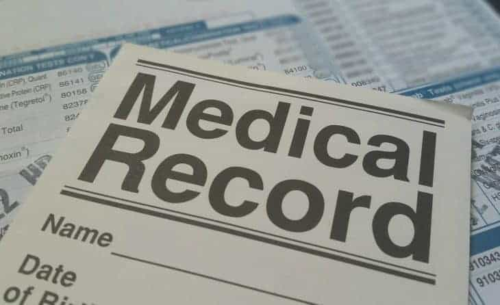 Check your Medical Records