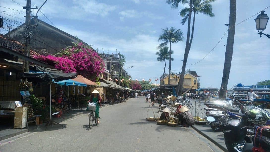 The lovely streets of Hoi An, Vietnam