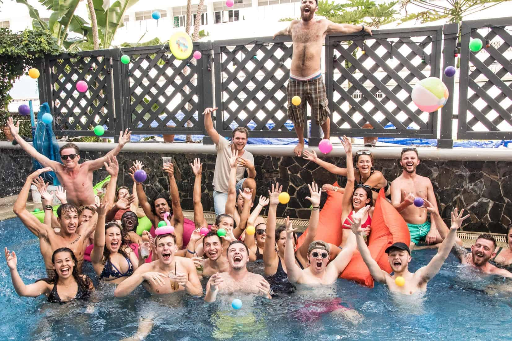 Mad Monkey Hostel Bangkok - One of the best party hostels Bangkok has to offer!