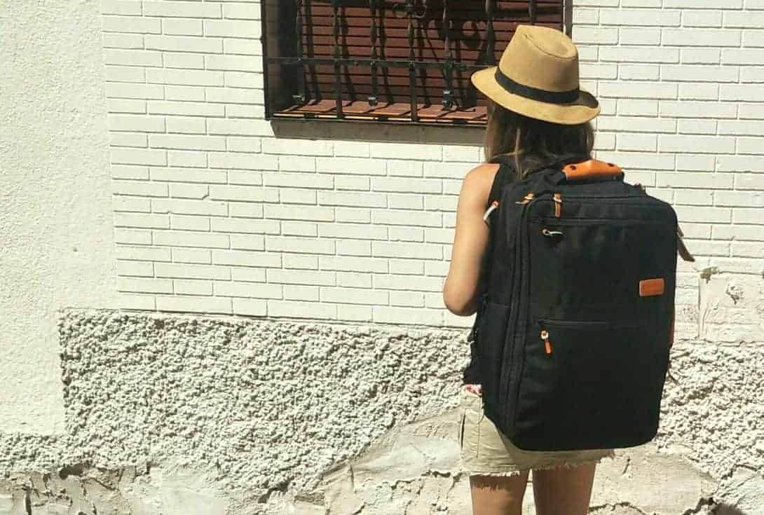 Nikki Sports A Standard Luggage Co Carry-On Backpack