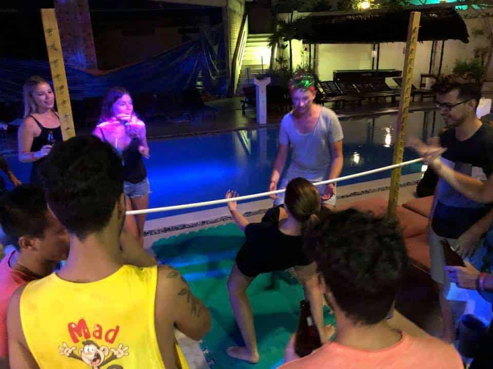 Limbo rocking is just one of the many activities backpackers can enjoy at Mui Ne Hills