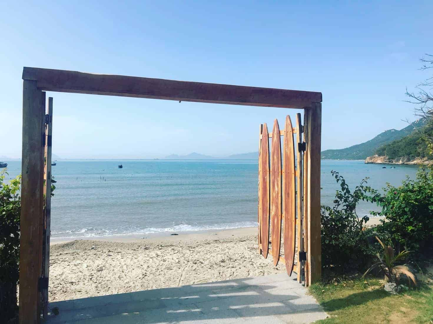 The gate opens to yet another adventure one can experience at Ninhvana VBH, Vietnam