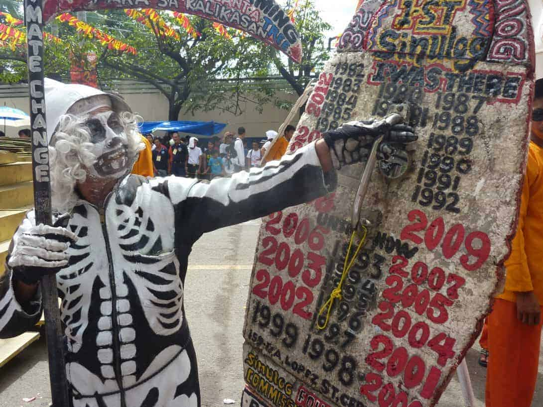 A local Cebuano looks back on all of the years he has attended the Sinulog Festival in Cebu, Philippines.