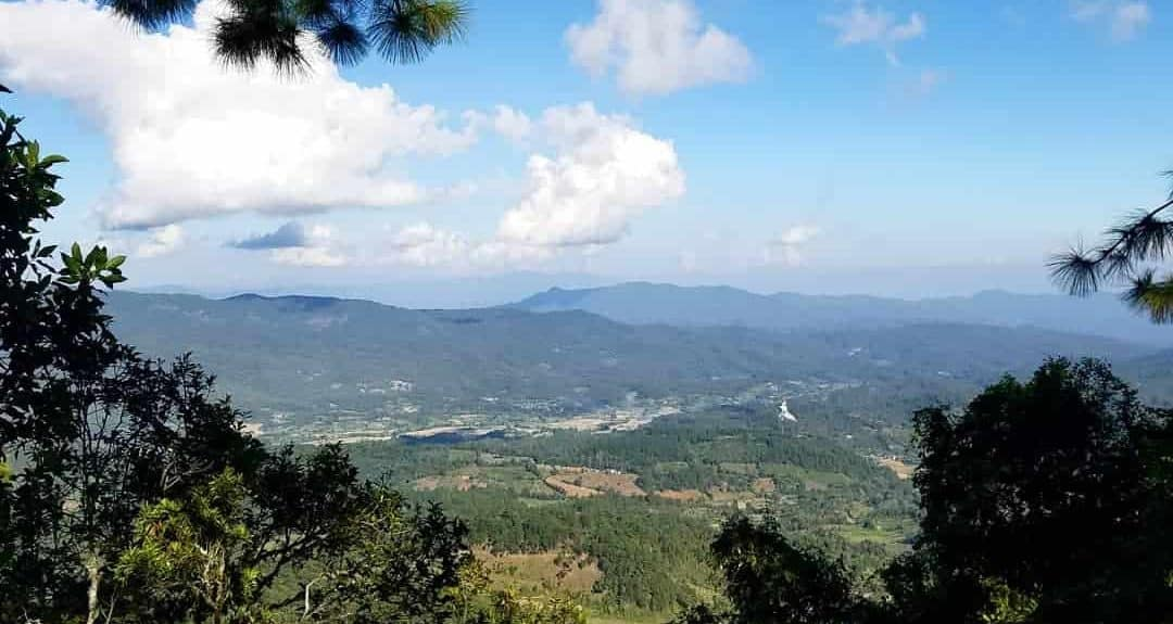 Blue Skies Above the Valley in Doi Inthanon