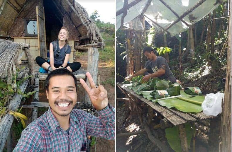 A local trekking guide from Chiang Mai.