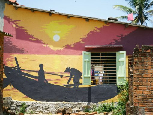 Half Day Tour to Tam Thanh Mural Village from Hoi An