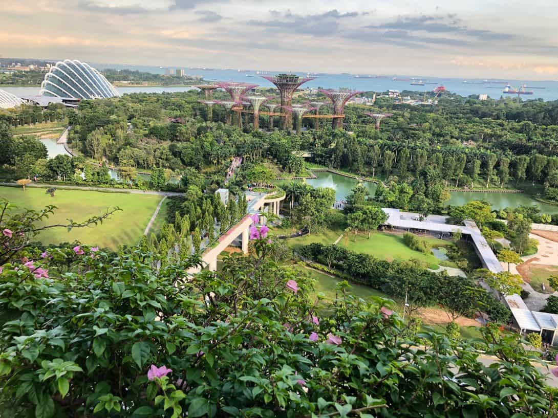 Singapore is also known as the 'Garden City'