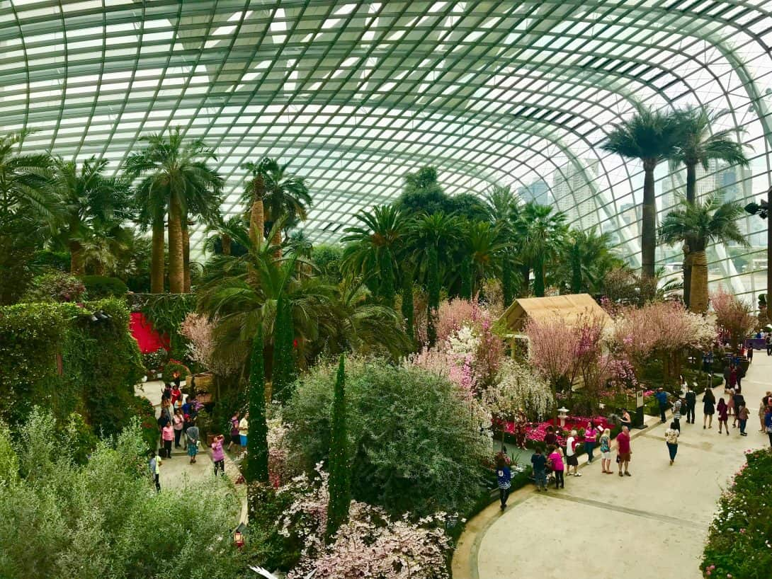 The Flower Dome - Gardens By The Bay, Singapore.