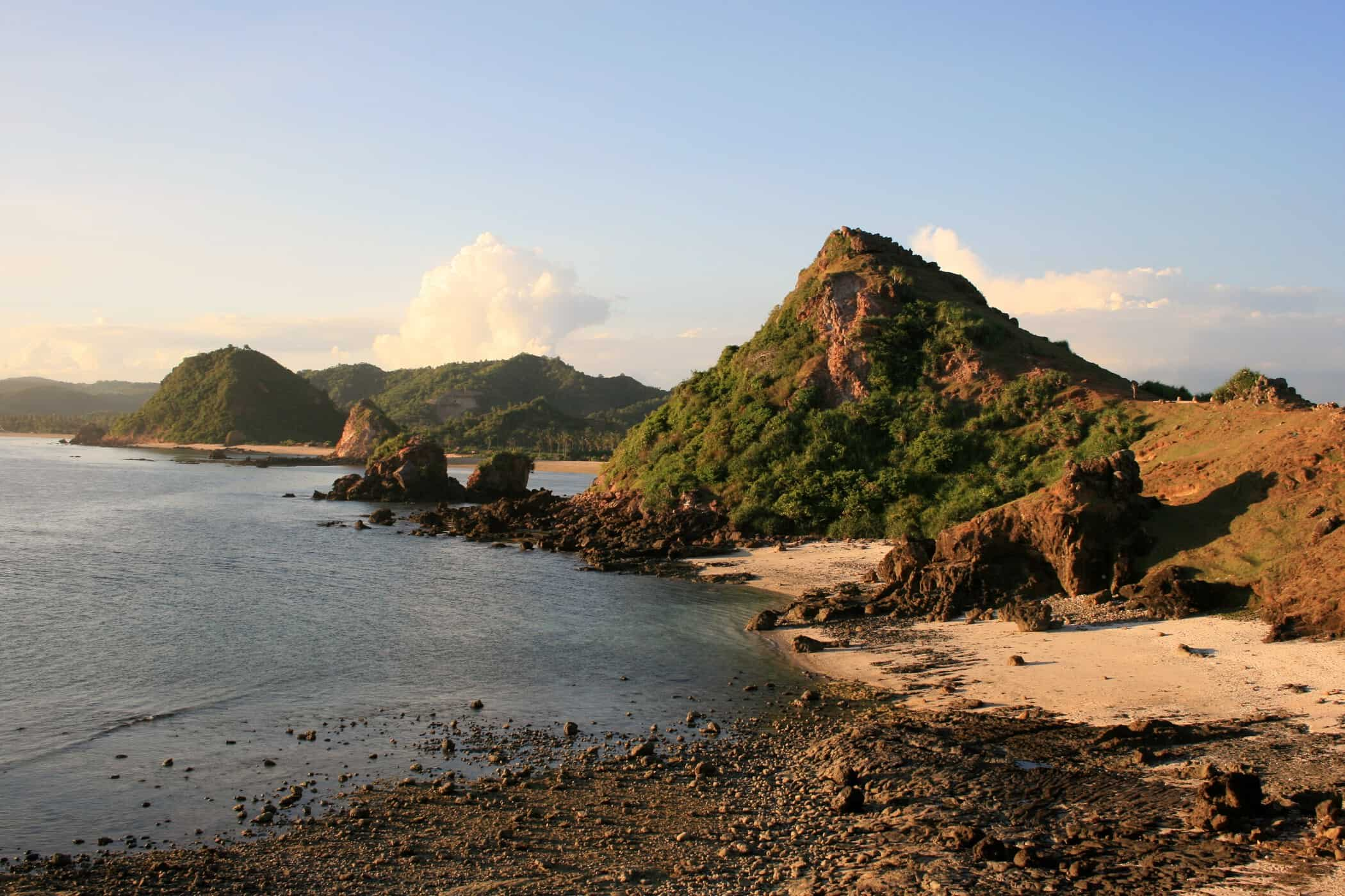 The View From The Hill Near Pantai Seger, Kuta, Lombok