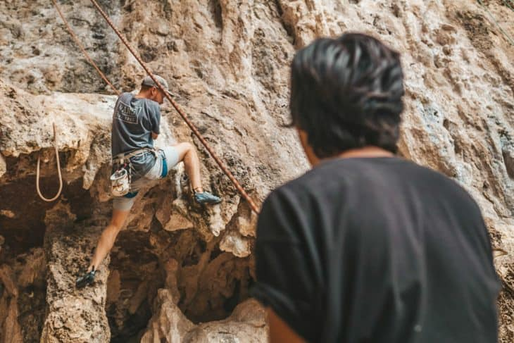 Real Rocks Guide, New, Belaying Will