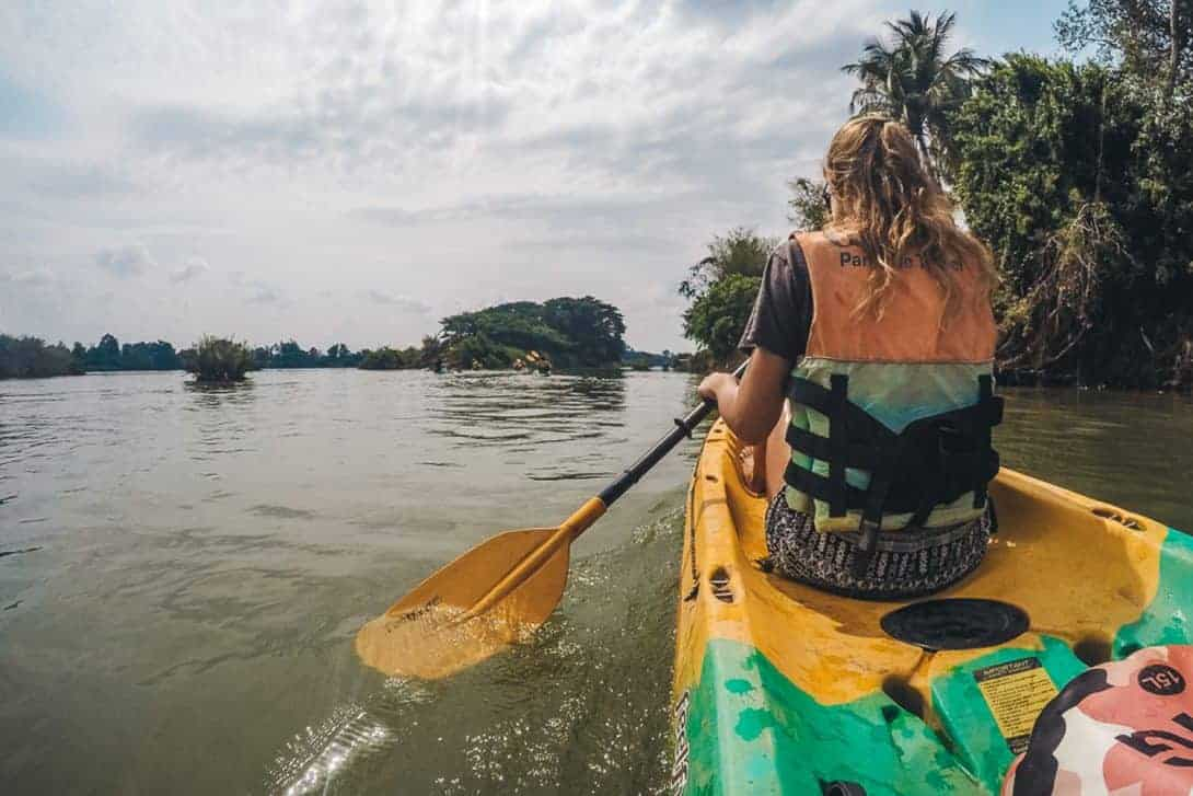 A Kayaking Adventure in The 4000 Islands, Laos