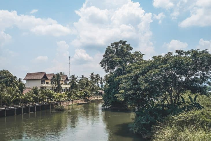 Views of Don Khone from the Bridge