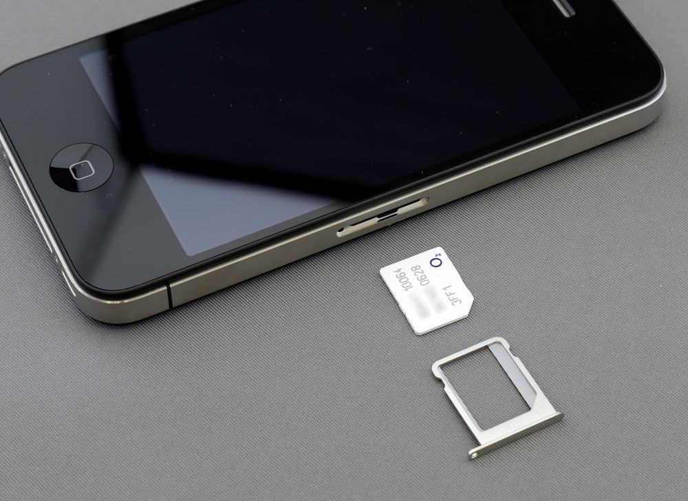 SIM card for iPhone