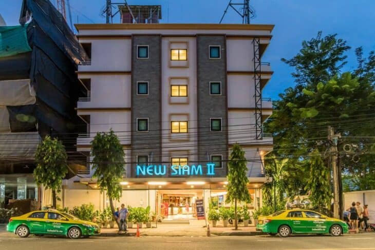 New Siam II Guesthouse Front