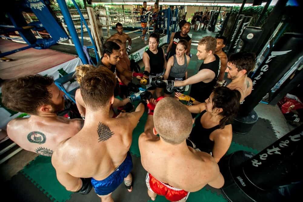 Khongsittha Muay Thai Gym is a great place to make friends!