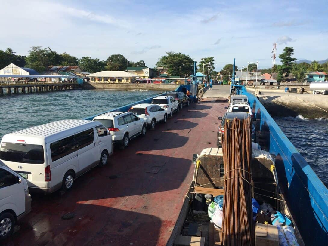 Ferry in the Philippines