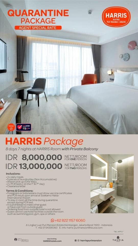 Harris Putri Mansions New 7 Day package