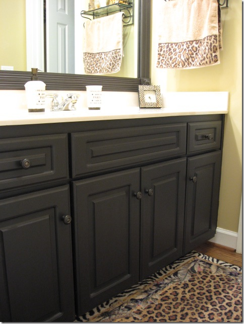 Best Black Paint Color For Bathroom Cabinets