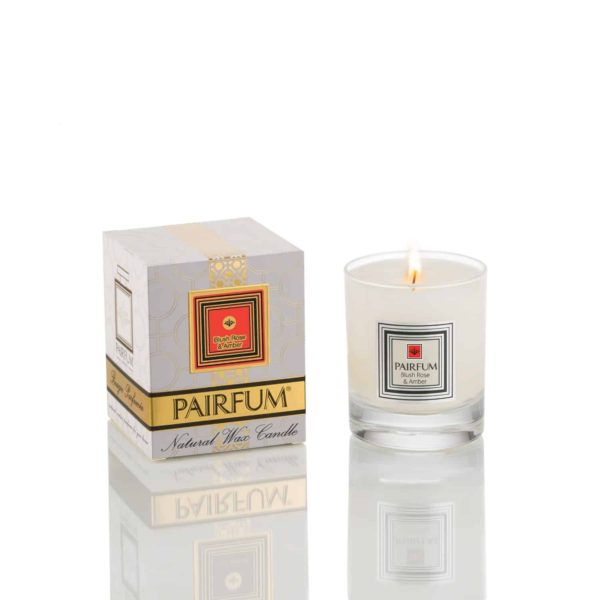 Pairfum Natural Wax Candle Pure Blush Rose Amber