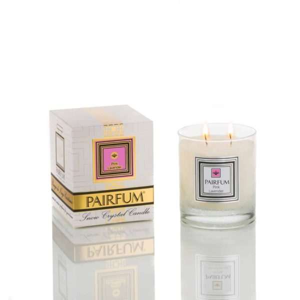 Pairfum Snow Crystal Candle Classic Pure Pink Lavender