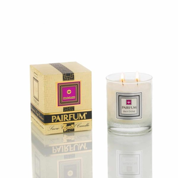 Pairfum Snow Crystal Candle Classic Signature Black Orchid