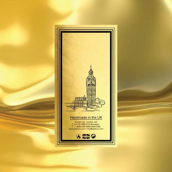 Pairfum Eau De Parfum Intense Carton Gold Back Liquid Gold